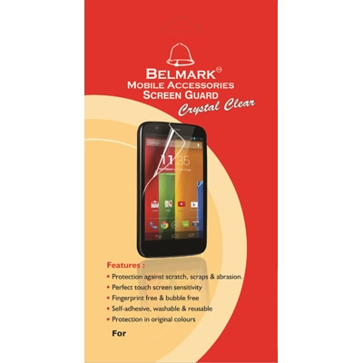 Belmark Clear Screen Guard For Micromax Canvas A110