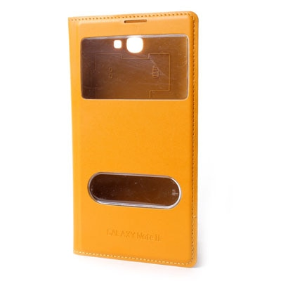 Callmate Flip Cover For Samsung Galaxy Note Ii N7100 (Yellow)