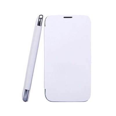 Callmate Flip Cover For Karbonn A21 (White)