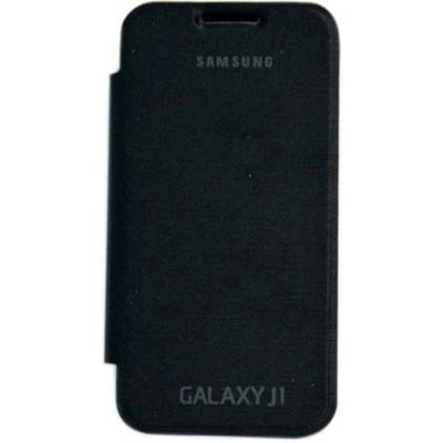CaseTech Flip Cover For Samsung Galaxy J1 (Black)
