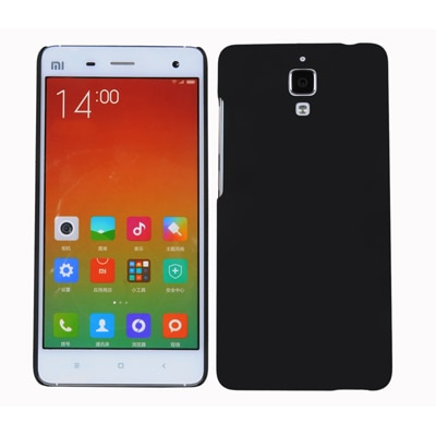 Cubix Ultra Thin Rubberized Matte Hard Back Cover For Xiaomi Mi 4 (Black)