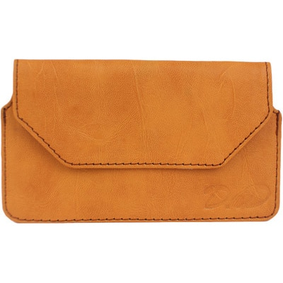 D.rD Pouch For Micromax Canvas Viva A72 (Orange)