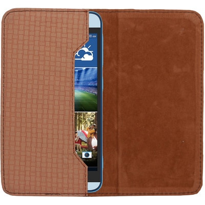 D.rD Pouch For Micromax Canvas Viva A72 (Brown)