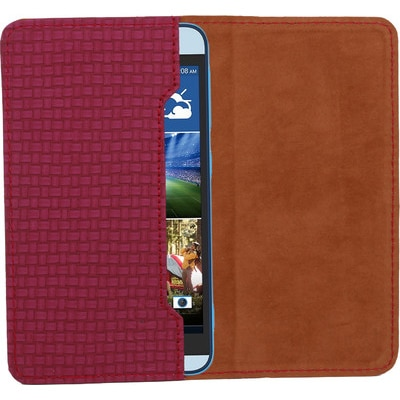 D.rD Pouch For Micromax Canvas Viva A72 (Maroon)