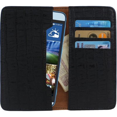 D.rD Pouch For Micromax Canvas Viva A72 (Black)