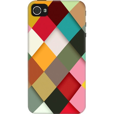 DailyObjects Back Cover For Apple IPhone 4/4S (Multi Color) - 7107225