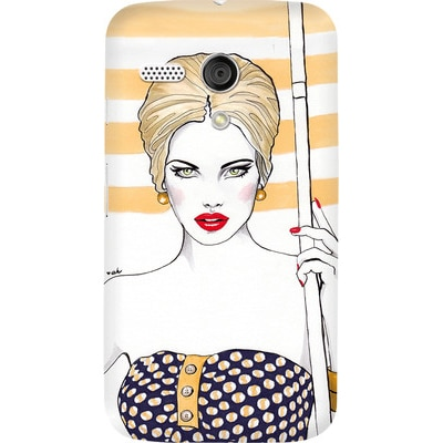DailyObjects Back Cover For Motorola Moto G (Multi Color) - 7106157