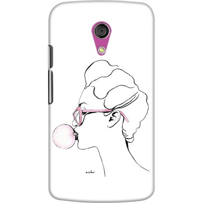 DailyObjects Back Cover For Motorola Moto G2 (Multi Color)