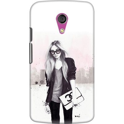 DailyObjects Back Cover For Motorola Moto G2 (Multi Color) - 7106032