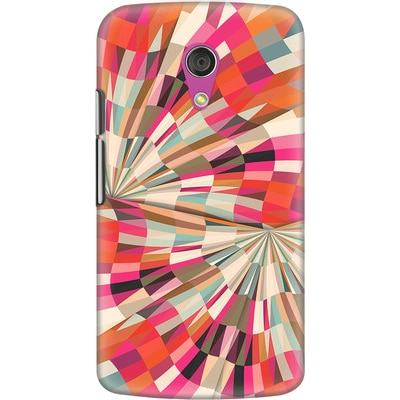 DailyObjects Back Cover For Motorola Moto G2 (Multi Color) - 7107706