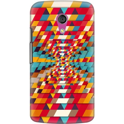 DailyObjects Back Cover For Motorola Moto G2 (Multi Color) - 7107802