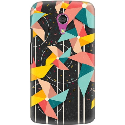 DailyObjects Back Cover For Motorola Moto G2 (Multi Color) - 7107698