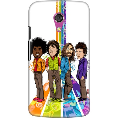 DailyObjects Back Cover For Motorola Moto G2 (Multi Color) - 7101962