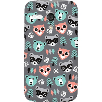 DailyObjects Back Cover For Motorola Moto G (Multi Color)