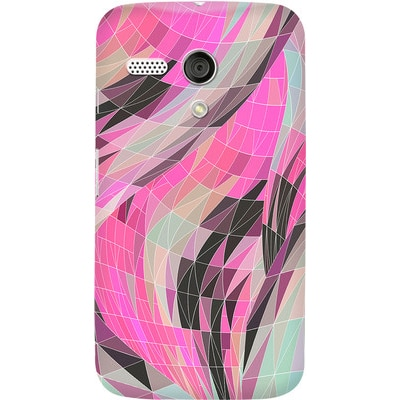 DailyObjects Back Cover For Motorola Moto G (Multi Color) - 7107833