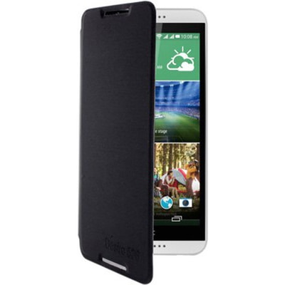 Extra Flip Cover For HTC Desire 626 (Black)