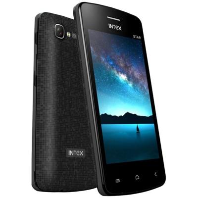 Intex Star PDA Dual Sim (Black)