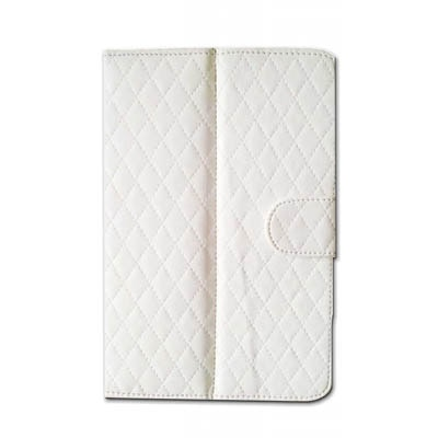 J & A Flip Cover For Swipe 3D Life Tab X74 (White)