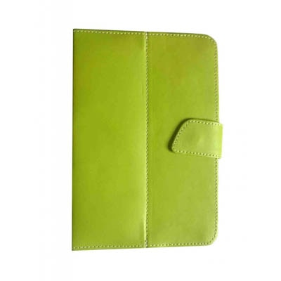 J & A Flip Cover For Mitashi BE 142 2G  (Green)