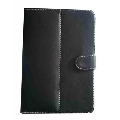 J & A Flip Cover For Swipe 3D Life Tab X74 (Black)
