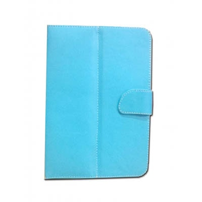 J & A Flip Cover For Mitashi Play BE 100 (Blue)