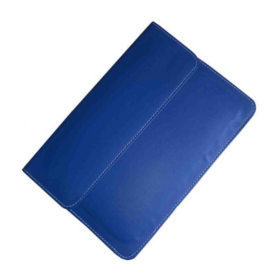 J & A Tablet Pouch For Mitashi BE 142 2G  (Blue)