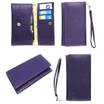 Jo Jo A5 D4 Leather Pouch For Byond B66 (Purple)
