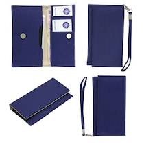 Jo Jo A5 G8 Leather Pouch For Byond B66 (Blue)