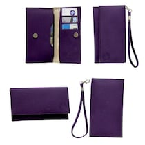 Jo Jo A5 G8 Leather Pouch For Byond B66 (Purple)