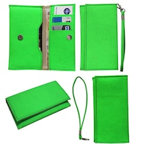 Jo Jo A5 G8 Leather Pouch For Byond B66 (Light Green)