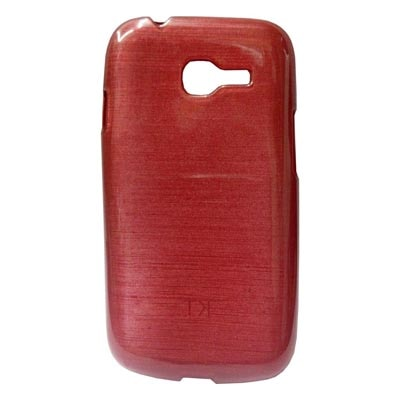 Kelpuj Silicon Back Cover For Samsung Galaxy Star Pro S7262 (Red)
