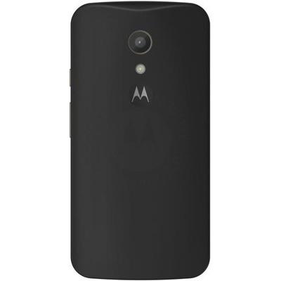 Motorola Back Panel For Motorola Moto G2 (Black)