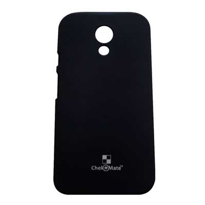Motorola Back Cover For Motorola Moto G 2nd Gen Xt1068 (Black)