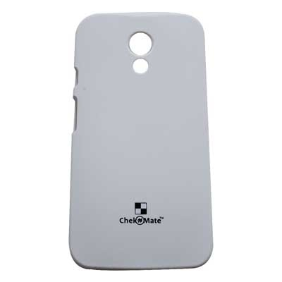 Motorola Back Cover For Motorola Moto G 2nd Gen Xt1068 (White)