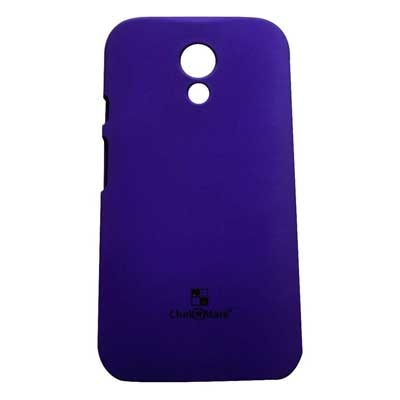 Motorola Back Cover For Motorola Moto G 2nd Gen Xt1068 (Purple)