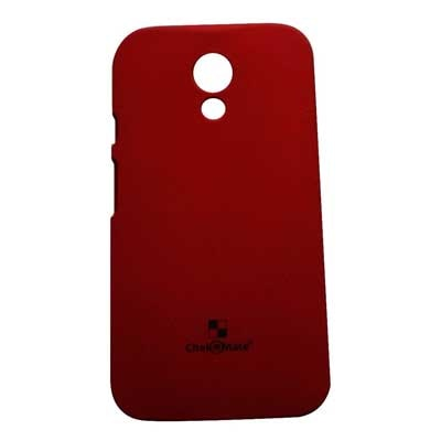 Motorola Back Cover For Motorola Moto G 2nd Gen Xt1068 (Red)