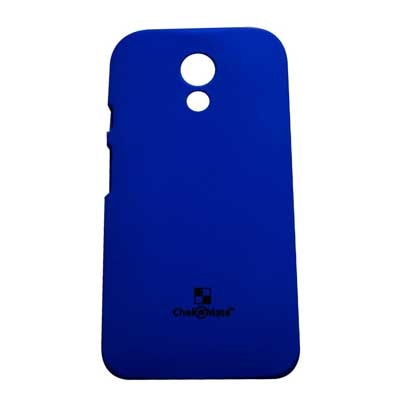Motorola Back Cover For Motorola Moto G 2nd Gen Xt1068 (Blue)