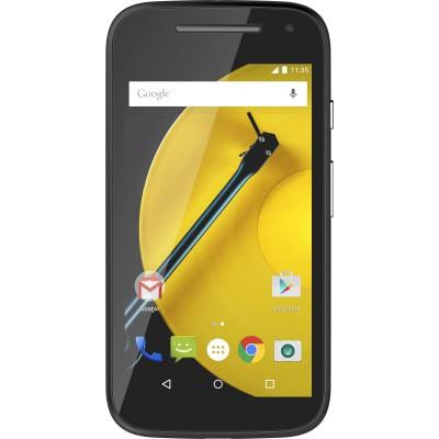 Motorola Moto E (2nd Gen 3G With 8 GB) (Black)