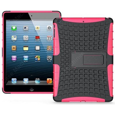 Newtronics Back Cover For Apple IPad Mini Wi-Fi(Pink & Black)