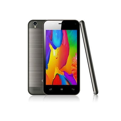 Onida I450 4 GB (Black & Grey) With Free Flip Cover