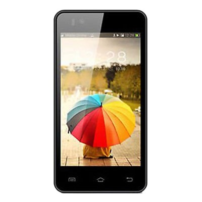 Phonemax Smarty 4 (Black) With Flip Cover And Screen Guard