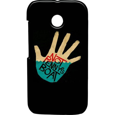 Pickpattern Back Cover For Motorola Moto E XT1021  Motorola Moto E Dual Sim XT1022 (Multi Color) - 8908054