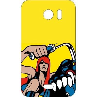 Printland Back Cover For Micromax 110 (Yellow)