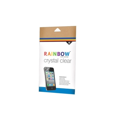 Rainbow Clear Screen Guard For Micromax Canvas A110