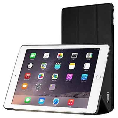 Rock Book Cover For Apple IPad Air 2 (Black)