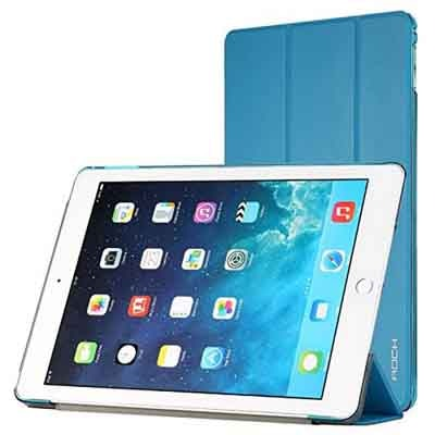 Rock Book Cover For Apple IPad Air 2 (Blue)