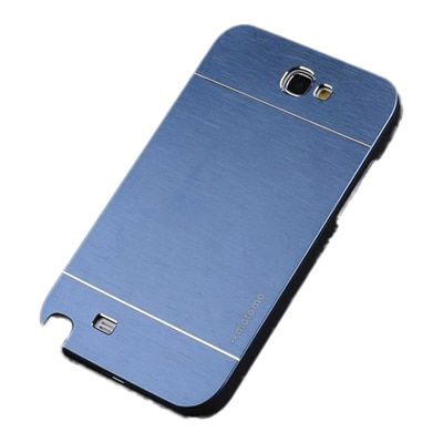 S8F Luxury Motomo Back Cover For Samsung Galaxy Note2 N7100 (Blue)