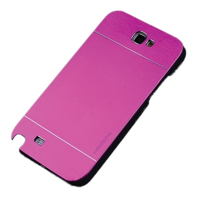 S8F Luxury Motomo Back Cover For Samsung Galaxy Note2 N7100 (Pink)