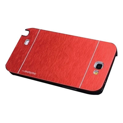 S8F Luxury Motomo Back Cover For Samsung Galaxy Note2 N7100 (Red)