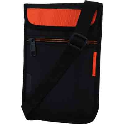 Saco Pouch For Swipe 3D Life Tab X74 3D (Black & Orange)